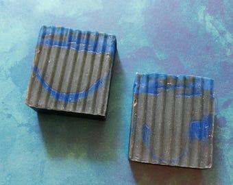 1 Black Sea / Handmade Soap / Charcoal Soap / Activated Charcoal Soap / Soap For Men / Gifts for Men / CP Soap / Handmade Soap / Detox Soap