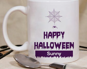 Happy Halloween Mug With Perfect Personalization