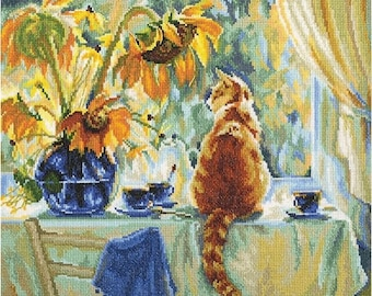 """Counted Cross Stitch Kit """"RTO"""" - """"Sunny Day"""""""