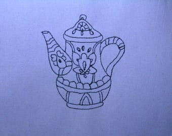 Decorative Teapot 008 4x4