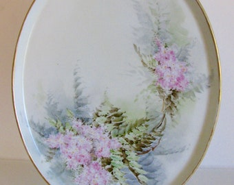 SPRING SALEAntique Limoges Tray Aesthetic Vanity Tressemann and Vogt