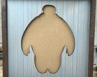 Disney Inspired Pin Display Shadowbox (Baymax)(placeholder pic)