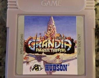 Grandia Parallel Trippers Game Boy Color GBC Custom English