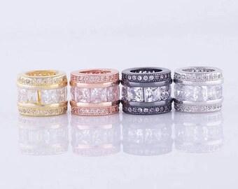 20% MEGA SALE Rose Gold  bead Hair Jewelry for Locs Charms Faux Locs Synthetic Dreadlock Dreadlock Accessory Loc Jewelry Making Braid Cuff