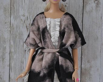 Beautiful handmade kardigan for Barbie Fashionistas,Model Muse,Fashion Royalty dolls