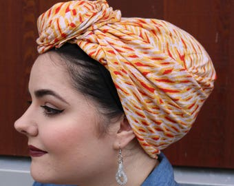 Soft Non-Slip Mod Tichel, Mothers Day Gift, Head Scarf, Chemo Hat, Turban Hat, Hair Scarf, Chemo Headwear, Head Wrap, Snood, Hair Wrap