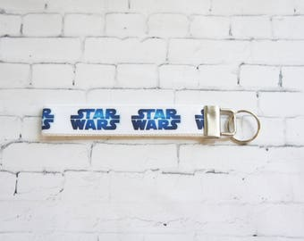 Star wars key Fob, wristlet keychain, Kids key FOB, Star Wars ribbons. Kids, Gift.