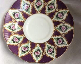 Royal albert bone china 'Royal series' pattern windsor orphan saucer