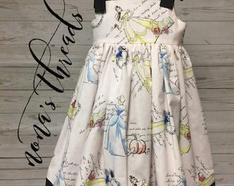 Pink Disney Princesses Dress