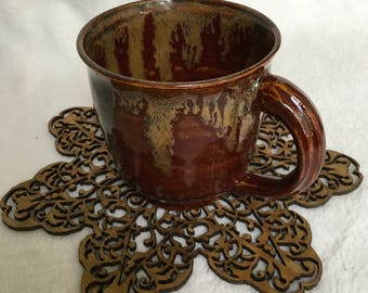 Red and Brown Mug