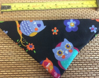 Beautiful owl bandana