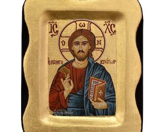 Jesus Christ Orthodox Icon Byzantine Icon Иисус Христос Спаситель