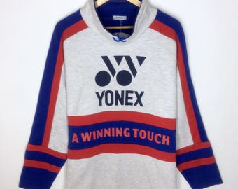 Rare Design Vintage Yonex Big Logo Sweatshirt