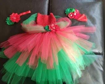 Holiday tutu dress