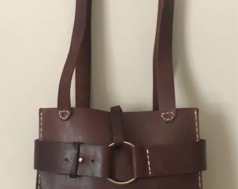 Small Leather Emeny Handbag