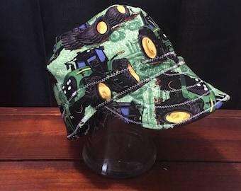 John Deere Green Welding Cap