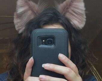 Tall luxury multi toned kitten ears