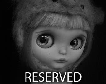 RESERVED - JL - Final Payment - Custom Blythe Doll By deDolly #189