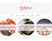Blogger Responsive Template - Delicious - Perfect for Food, Makeup, and Fashion blogs