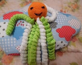 Cuddly stuffed Octopus