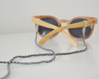 SIMPLICITY shadeloops // eyeglass chain, eyeglass holder, eyeglass leash, eyeglass holder, brillenkoordje, brillenkette, sunnycords