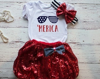 4th of July Outfit, Toddler 4th of July Outfit, Girl's 4th of July Shirt, Trendy outfit, Red white and blue Outfit, 4th of Juy America Shirt