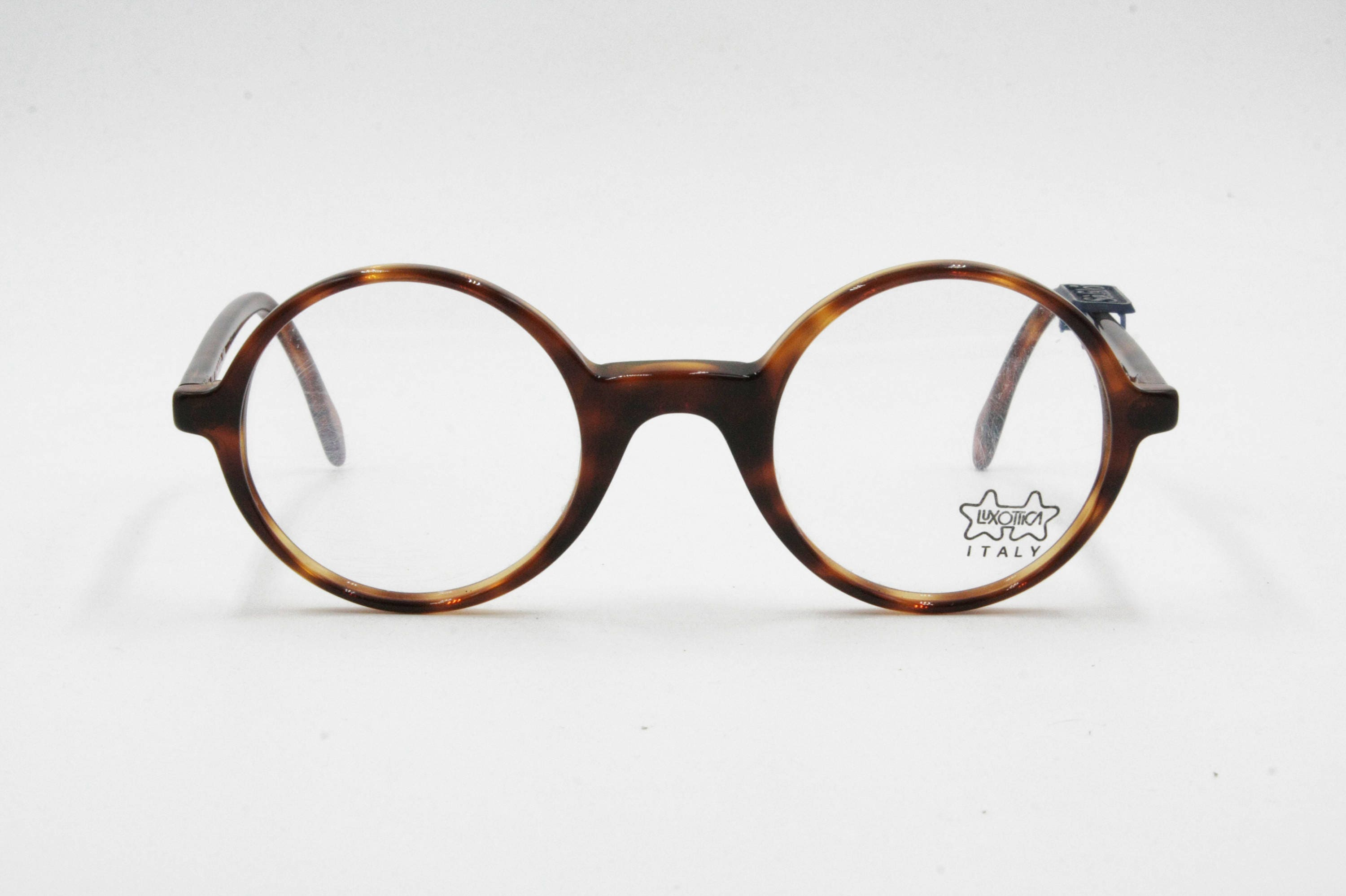 Harry Potter John Lennon frame glasses 70s rare round frame brown ...
