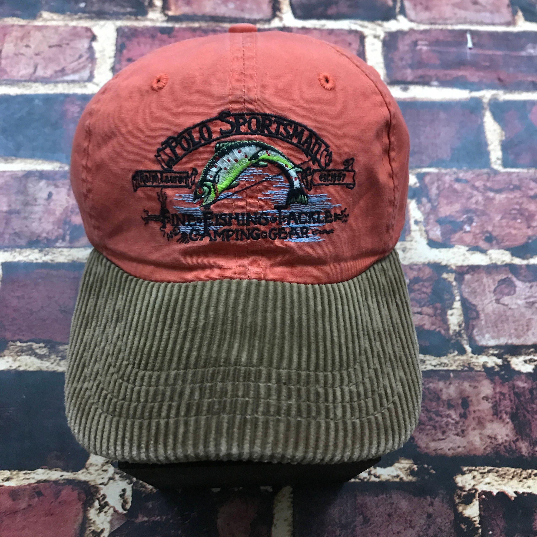 0aea8b6adafcf Vintage Polo Sportsman Cap Polo Sportsman Hat Polo Sport Hat Polo Ralph  Lauren Fishing Hat Ball ...