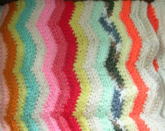 Table Runner - Rippled Crochet