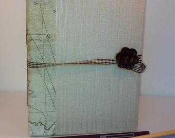 Hadmade book journal, travel journal, memories book, notebook