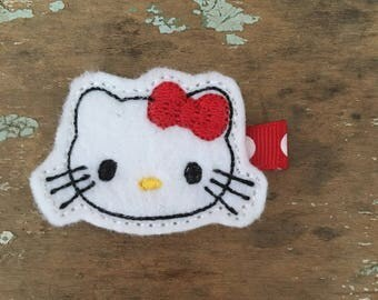 Hello kitty hair clip