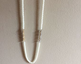 Free shipping SALE! Long pearl necklace