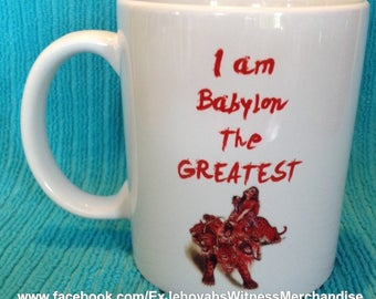 Funny Babylon The Great - Revelation Book -  mugs - Ex-JW, APOSTATE mugs, Ex Jehovahs Witness