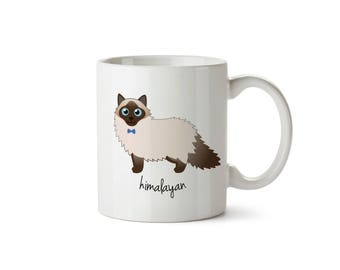 Himalayan Cat Mug (boy)