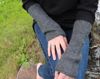 Baby Alpaca hand warmers, short