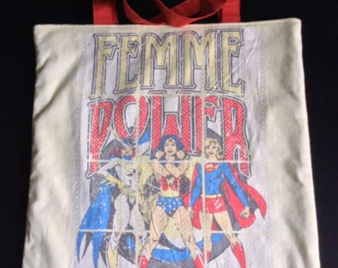 Tote bag women Power
