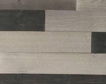 Variation Reclaimed Wood Wall Paneling (Peel and Stick)