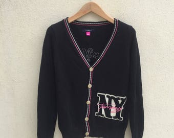 Tommy Hilfiger Womans Cardigan Embroidered Logo