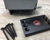 New! GRS Benchmate bench pin holder and fixed mounting plate, made in USA, holds our Perfect Bench Pin