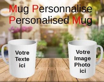 mug personalized with your text, photo, image, theme, logo