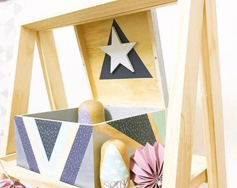 Wooden storage box, customize