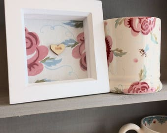 Emma Bridgewater Rose and Bee frame, Rose and Bee decorative frame, Emma Bridgewater decoration