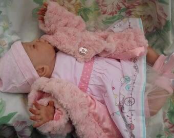 "Reborn baby Charlotte realistic newborn 20"" 5lb 12oz artist painted JosyNN,  Moore sculpt"