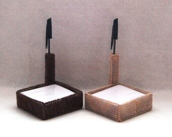 Block Pad & Pen Holder