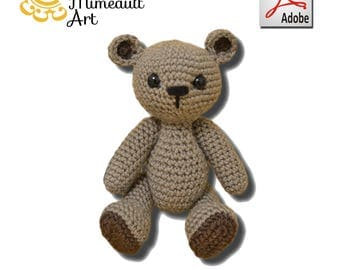 Pattern Small Teddy Bear easy (US english and french)