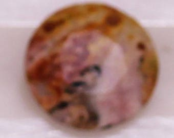 Rhyolite 0.46cts Round Cut 6mm R1231 Gemstone Jewelry Making Semi Precious Gemstone