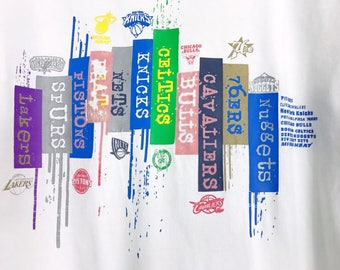 UNK NBA • T-Shirt • S • Basketball • LOGOS t-shirt • Lakers • Knicks • Chicago Bulls