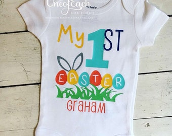 Personalized First Easter Bodysuit