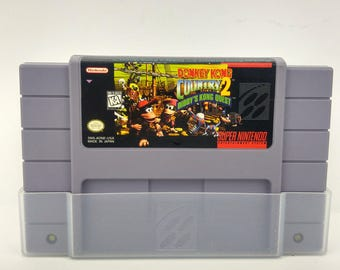 Super Nintendo Donkey Kong Country 2 Diddy's Kong Quest Game