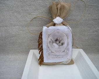 Shabby scented Lavender ask to decorate or store in the laundry bag